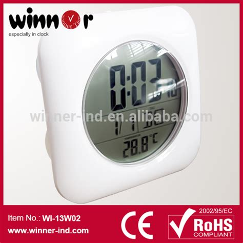 Sempre Bathroom Radio Controlled Clock Alibaba Manufacturer Directory Suppliers Manufacturers