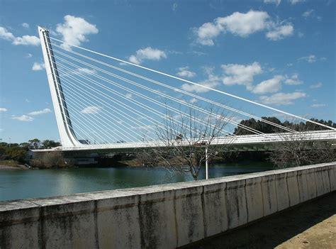 Cantilevered Deck by Images Of El Alamillo Bridge Seville Spain By Santiago