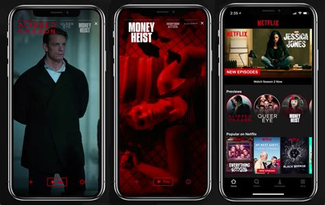 netflix mobile netflix mobile previews bring vertical to your
