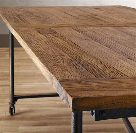 Flatiron Dining Table According To Ame Totally Obsessed Restoration Hardware Flat Iron Dining Table