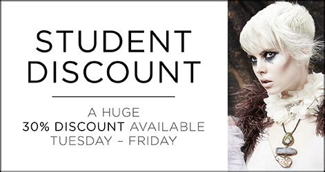discount haircuts on tuesday student discount is now available at christian wiles