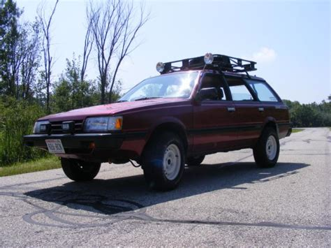 subaru loyale lifted theloyale s subaru loyale 4wd wagon readers rides