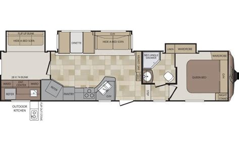 cougar 5th wheel floor plans 2014 keystone cougar 330rbk fifth wheel lexington ky
