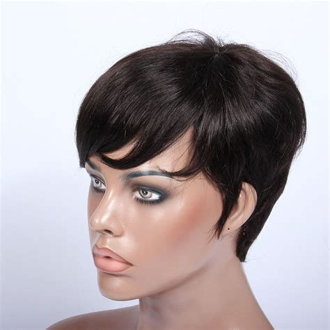pictures of short wigs short black hair wig wigs by unique