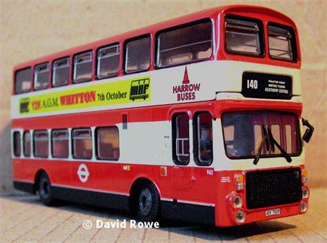 modelbuszone abc model trax london buses harrow buses volva ailsaalexander