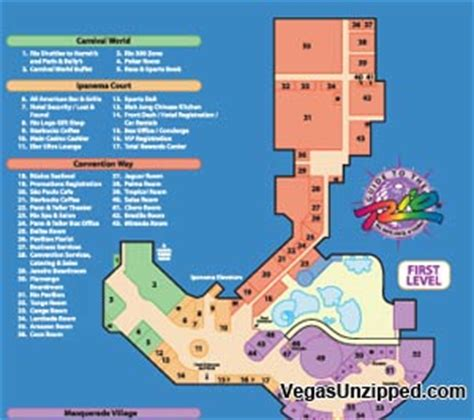 planet hollywood las vegas floor plan las vegas hotel and casino property maps list