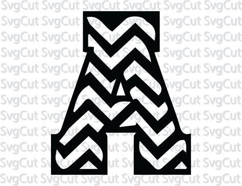 chevron pattern font free chevron letters svg print and cut chevron alphabet svg