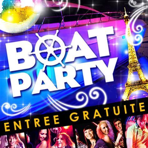 party boat paris boat party 224 paris concorde atlantique paris mardi 2