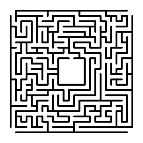 Printable Maze With Multiple Exits | a maze a week