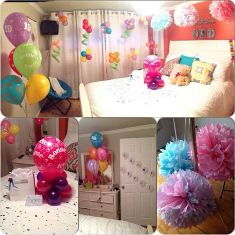 Birthday Bedroom Decoration by 17 Best Ideas About Birthday Room On