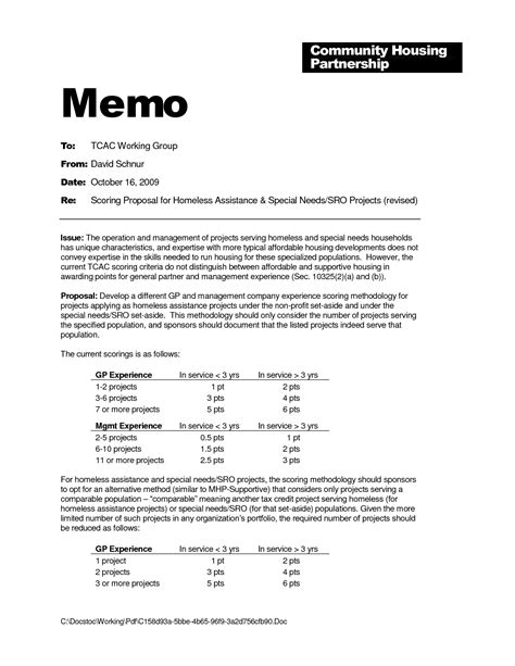 memo template best photos of project memo template business