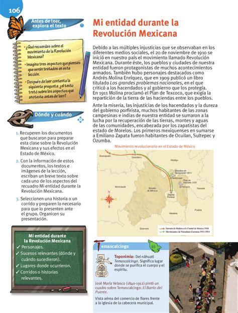 libro de mi entidad estado de mexico c iclo escolar 2015 2016 entidad donde vivo estado de m 233 xico by rar 225 muri issuu