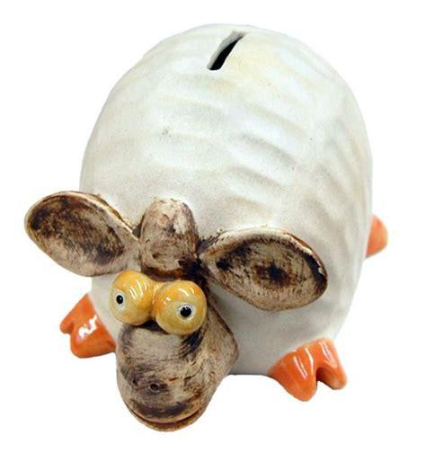 sheep piggy bank ceramic sheep piggy bank 5 quot from uniquely thai decor