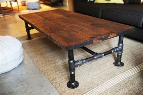 build your own rustic coffee table woodworking projects