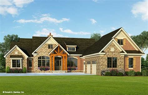 house plans with 2 separate garages house plan the henningridge by donald a gardner architects