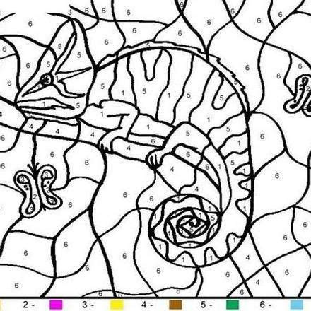 color by number animal coloring pages animal color by number coloring pages 43 free online