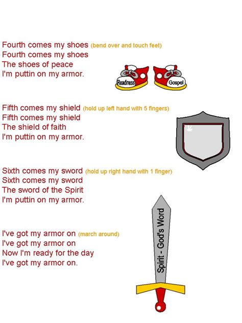 armour song 110 best images about children s bible armor of god on