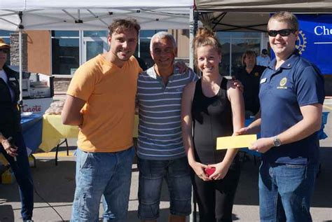 tattoo chestermere rotary club s amazing race chestermere is a huge success