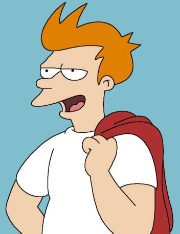 how to do philip j fry hairstyle la secci 243 n de fry