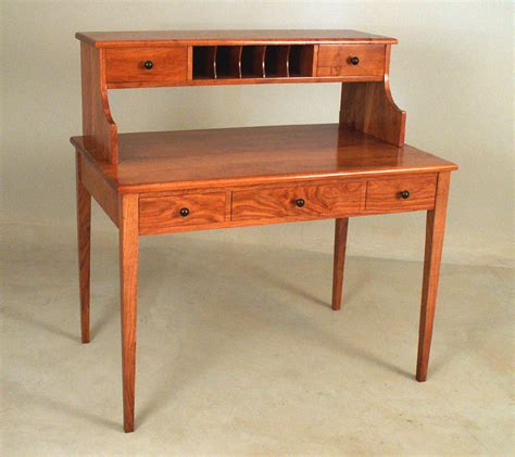 Shaker Style Desk by Mesquite Shaker Style Desk By Bagnall Woodworks