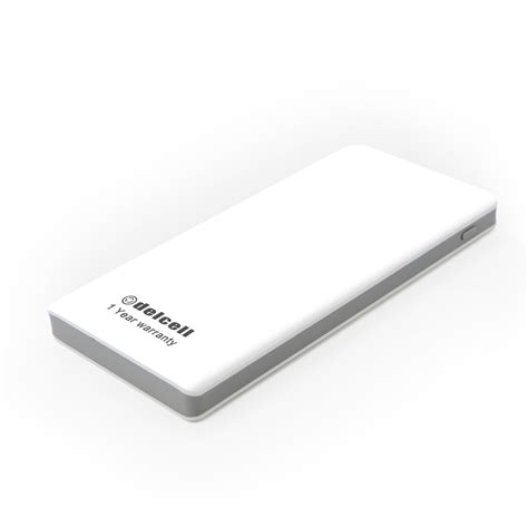 Powerbank Delcell Eco 10000mah delcell eco powerbank slim 10000mah real capacity polimery