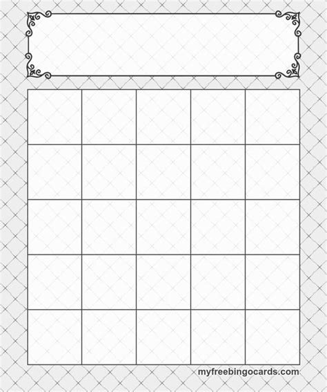 Bingo Card Template 5x5 by Bingo Free Printable Bingo Cards And Generators On