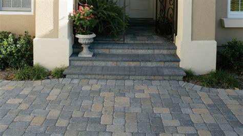 pavestone patio ideas brick entry steps for a front porch pavers front porch stone steps design