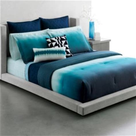 blue ombre bedding indigo bedding and kohls on pinterest