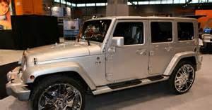 Jeep 4 Door Jeep Wrangler 4 Door Chrome Wheels