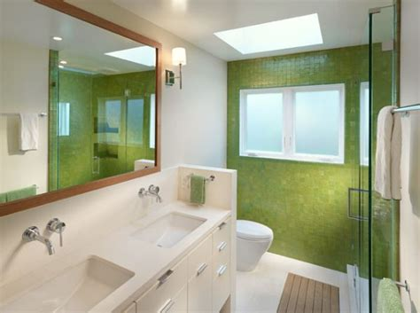 what to use on bathroom walls how to use green in bathroom designs