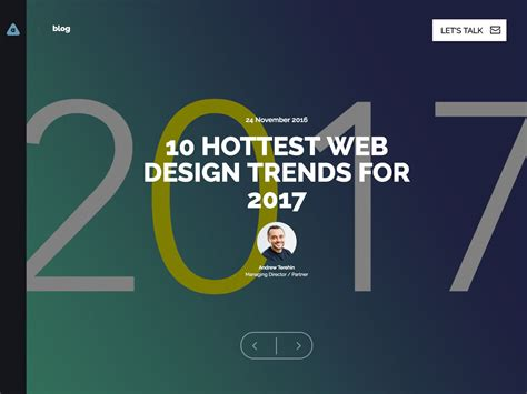 10 hottest web design trends you gotta know for 2017 popular design news of the week january 23 2017