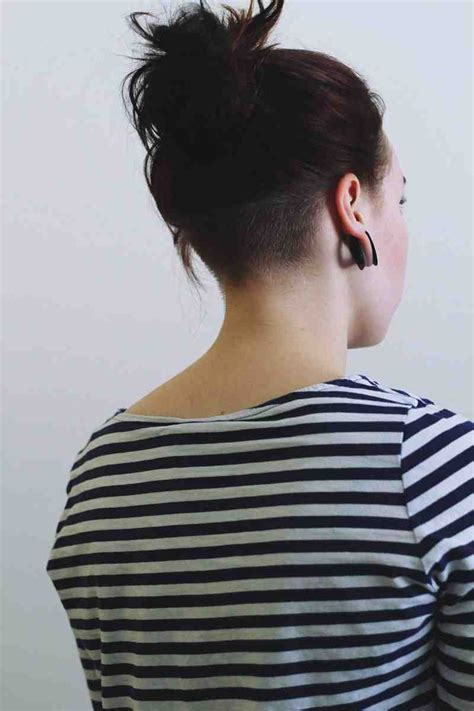 feathered hair into nape of neck 75 best dreadlocks undercuts images on pinterest