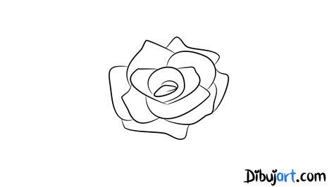 imagenes de una rosa para dibujar faciles c 243 mo dibujar una rosa sencilla y f 225 cil 6 serie de