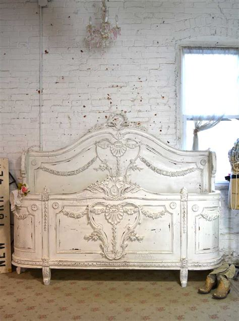 Painted Cottage Furniture by Painted Cottage Shabby Linen Bed Bd718