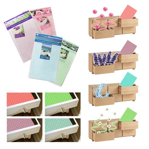 scented drawer liners perfumed sheets wardrobe 4 lavender