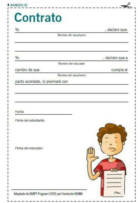 contrato d docentes primaria 2016 contrato psicolog 237 a pinterest