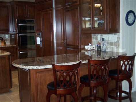 Bar In Kitchen Ideas Kitchen Cabinets In Southern California C And L Designs