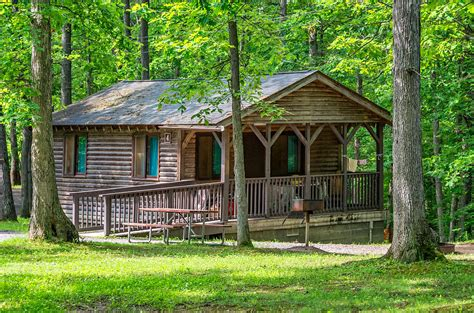 Cabins Letchworth State Park by Letchworth State Park Cabin Photograph By Steve Harrington