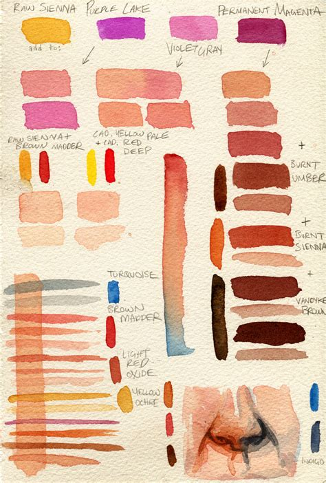 how to make skin color paint pin by ceedee kaybee on other tutorials watercolor