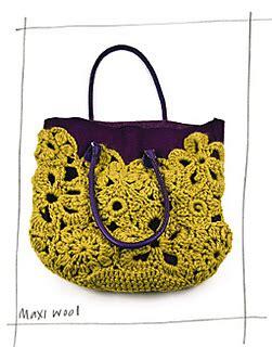 crochet lace bag pattern ravelry 16 crochet lace bag uk pattern by erika knight