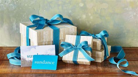 Sundance Gift Card - gift boxes robert redford s sundance catalog