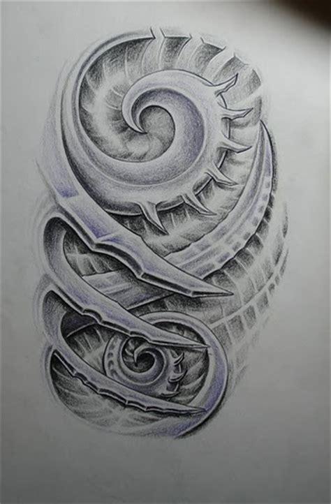 biomech tattoo flash various artists pinterest