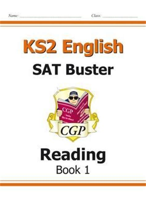 reading schemes ks2 new ks2 english sat buster reading book 1 for the 2016