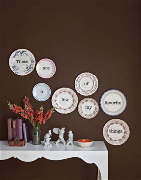 decorative plates for wall display crafts ideas for crafts using letters and words