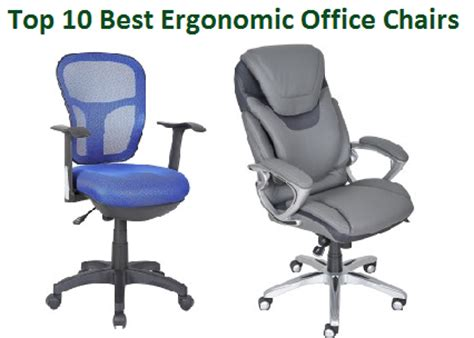 Top 10 Office Chairs by Top 10 Best Ergonomic Office Chairs Officegearzone