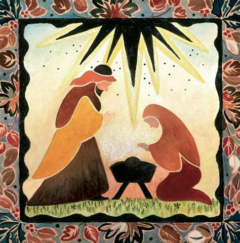 Cards With Nativity - gentle nativity charity cards by card aid