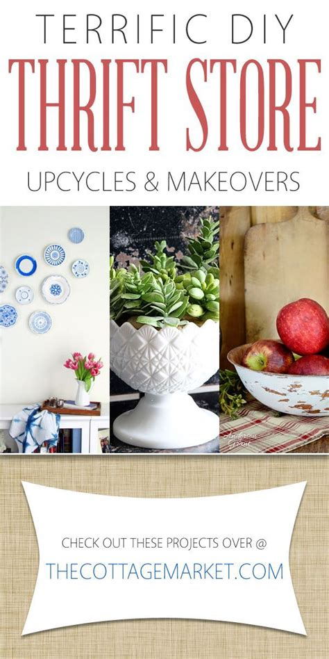 thrift store diy projects terrific diy thrift store upcycles and makeovers the