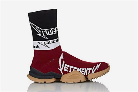 X Reebok Sock Sneakers nuove colorway delle vetements x reebok sock runner