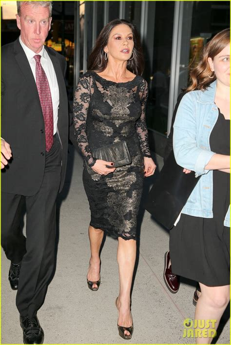 Cocaine Chic Is Back by Catherine Zeta Jones Looks Chic While Stepping Out To
