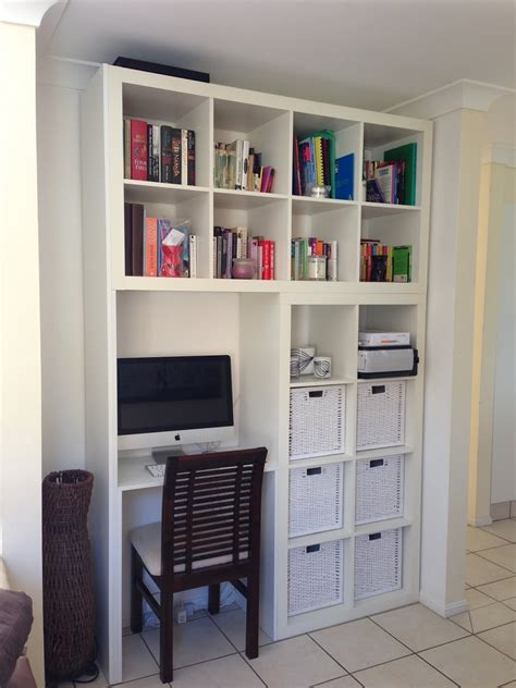 ikea wall unit with desk custom designed wall unit computer desk book shelf get